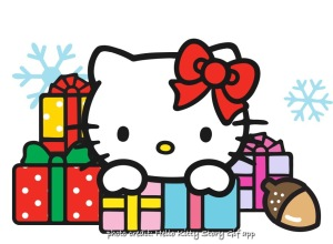 05295b72d Hello Kitty's gift for us will help us spread a little holiday cheer to our  friends! Starting today, November 30, Hello Kitty StoryGIF Advent Calendar  app ...