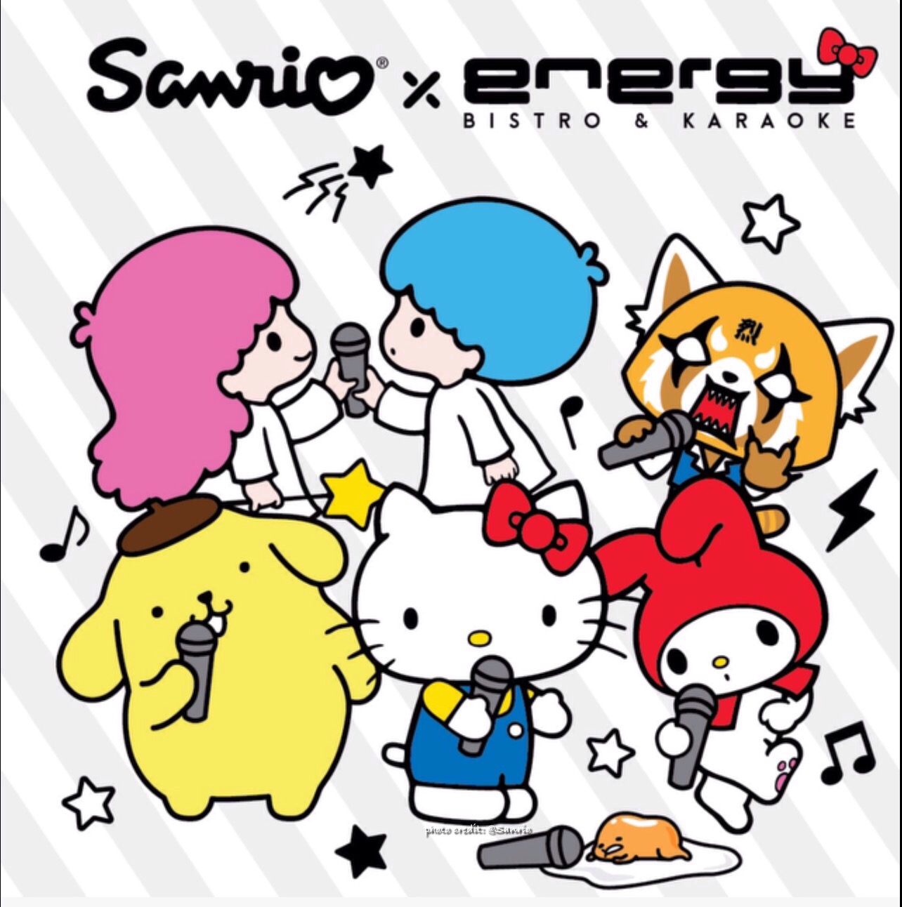0d7f7425f9a14 ... two year partnership between Sanrio and Energy Bistro & Karaoke. Energy  Bistro & Karaoke will have cute karaoke rooms featuring our favorite Hello  Kitty ...