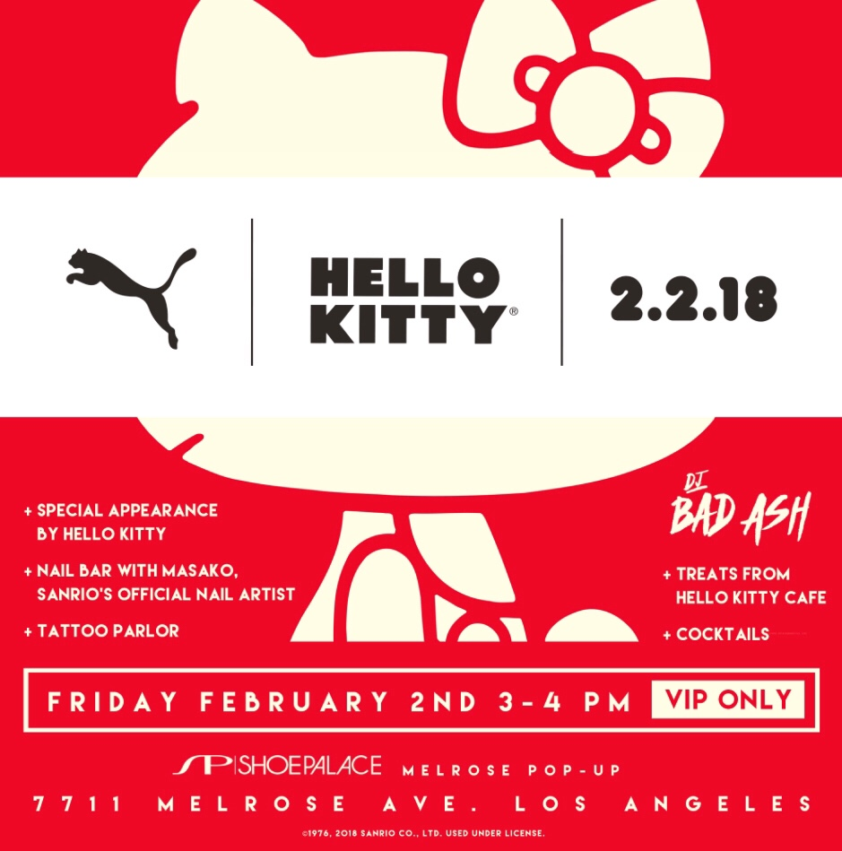 new concept 2d0b5 46c5a Hello PUMA x Hello Kitty! – hello kitty foodie