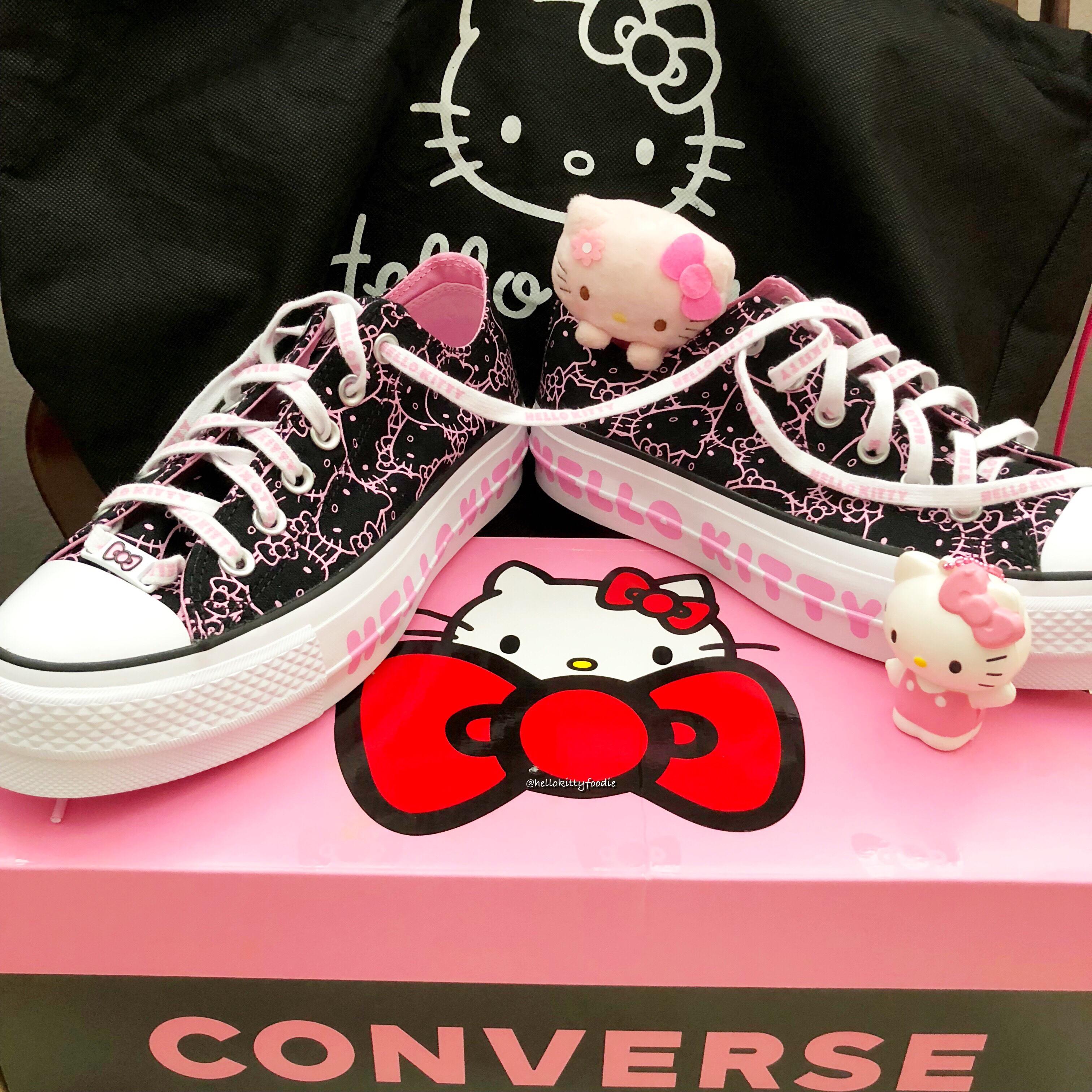 converse shoes hello kitty